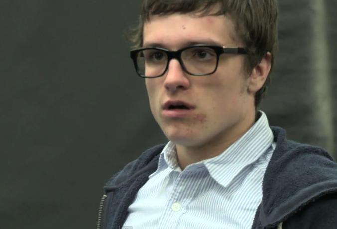 La vidéo de Josh Hutcherson pour le casting de Spider Man Capture d'écran 2012 07 12 à 10.03.06