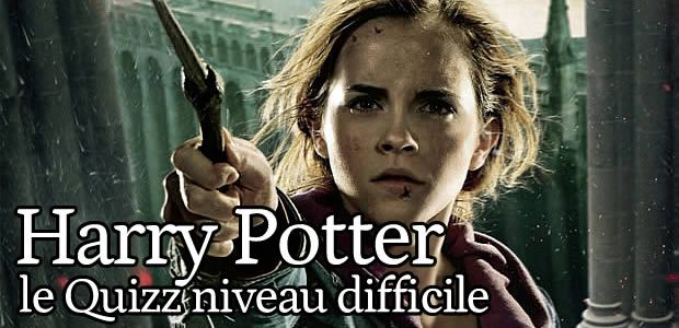 Quizz – Harry Potter (niveau difficile)