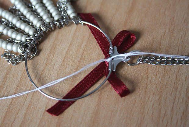 collier9 Tuto   Un collier chevron en perles de rocaille