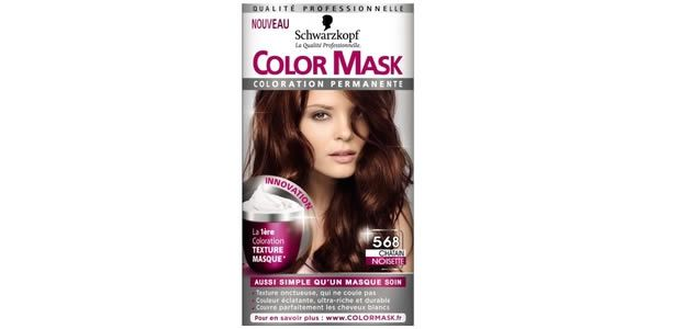 Schwarzkopf lance la coloration en masque color