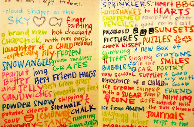 10 listes à faire pour se remonter le moral — Les conseils d'Hippie Jack