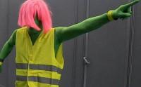 Maxime Musqua est… FLUOMAN au Comic Con' 2012 !