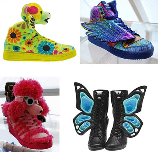 Jeremy Scott pour Adidas Originals : la vidéo superkitsch shoes