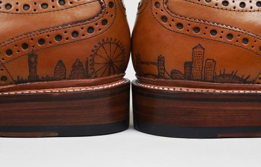 Oliver Sweeney, la marque qui tatoue des chaussures tatoo2