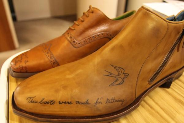 tattoo3 Oliver Sweeney, la marque qui tatoue des chaussures