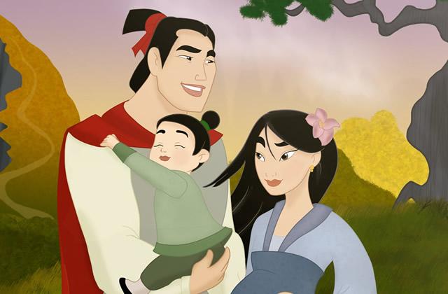 La vie de famille des personnages disney - Personnage disney bebe ...