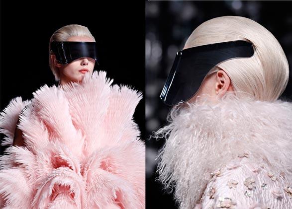 visiere mcqueen La visière futuriste Alexander McQueen : pour ou contre ?