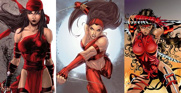 Typologie des tenues de super héroïnes  Elektra