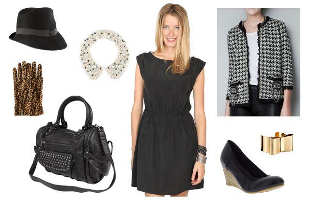 Petite veste pour une robe noire