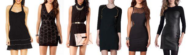 4 styles avec... une petite robe noire Robe noire5