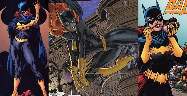 Typologie des tenues de super héroïnes  batgirl