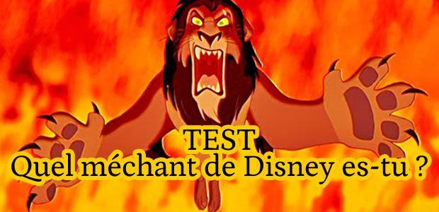 Test – Quel méchant de Disney es-tu ?