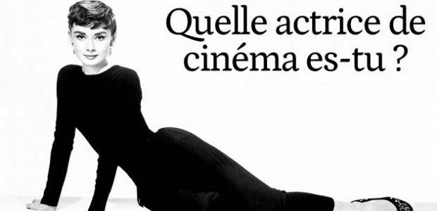 Test – Quelle actrice de cinéma es-tu ?
