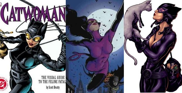 Typologie des tenues de super héroïnes  catwoman
