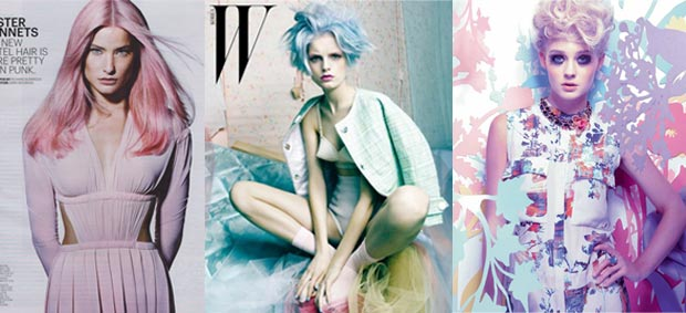 cheveuxpastels Avoir les cheveux colorés en 2012 : leffet mouton ?