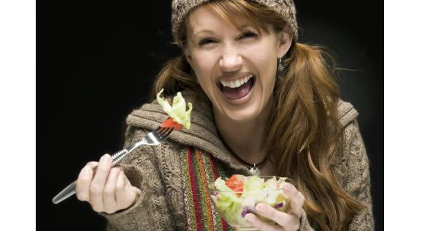 La vérité sur la salade verte femmesalade