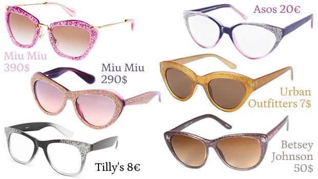 Tuto   Des lunettes à paillettes lunettesapaillettes