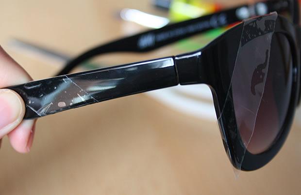 Tuto   Des lunettes à paillettes matoslunettes6