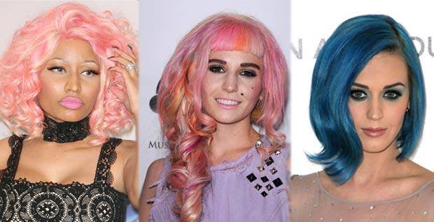 minajkitchingperry Avoir les cheveux colorés en 2012 : leffet mouton ?