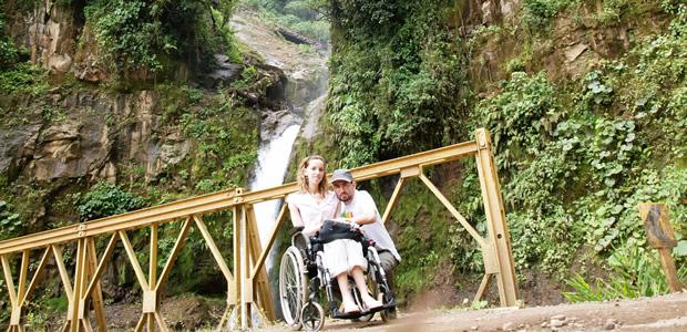 Un fauteuil pour deux : Emeline, Jérôme, les voyages et la myopathie ourtrip1