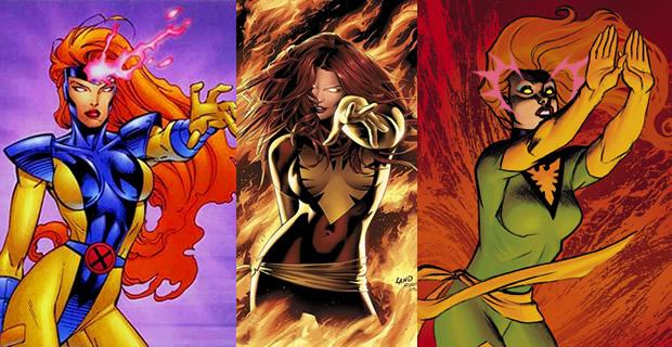 Typologie des tenues de super héroïnes  phénix