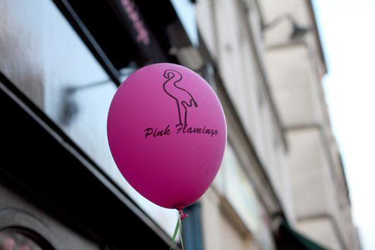 5 idées pour prolonger lété à Paris pink flamingo ballon