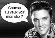 Un slip sale d'Elvis vendu aux enchères