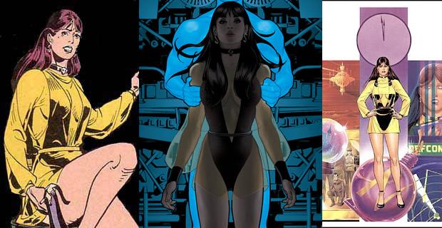 Typologie des tenues de super héroïnes  spectre soyeux