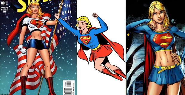 Typologie des tenues de super héroïnes  supergirl