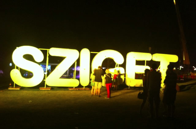 Sziget 2012 : le report