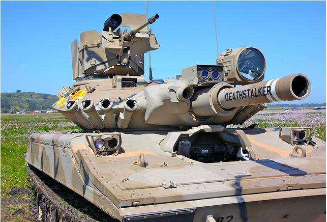 Léconomie de la guerre tank