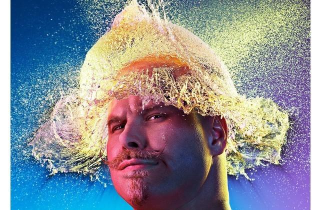 Des perruques en eau immortalisées par un photographe