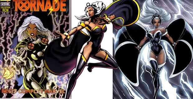 Typologie des tenues de super héroïnes  tornade