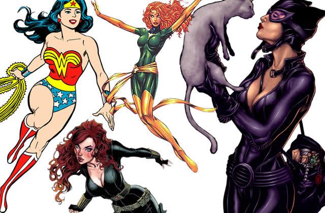 Typologie des tenues de super-héroïnes