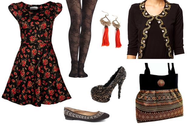 Baroque3 Le style baroque oriental – Tendances mode automne hiver 2012 2013