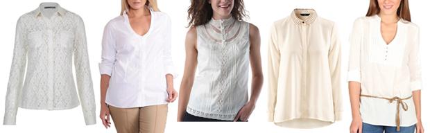 4 styles avec... un chemisier blanc Chemisier1