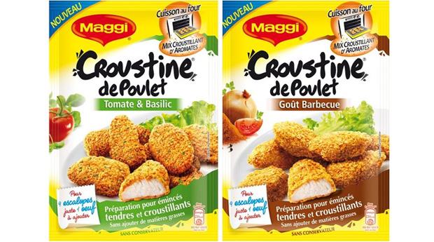 Qui veut tester les Croustines de poulet Maggi ? Croustine Maggi