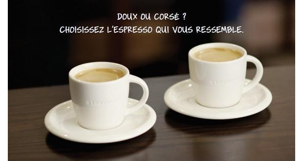 Starbucks toffre ton café du lundi matin ! Espresso Starbuck