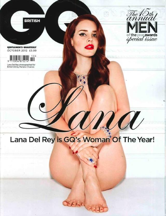 GQ Lana Del Rey nest pas partie : elle pose nue pour GQ
