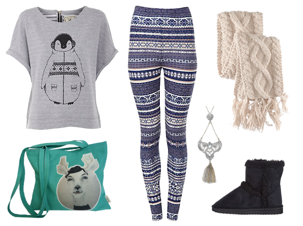 Look11 Le style ethnique Grand Nord – Tendances mode automne hiver 2012/2013