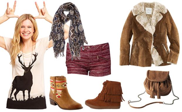 Look3 Le style ethnique Grand Nord – Tendances mode automne hiver 2012/2013