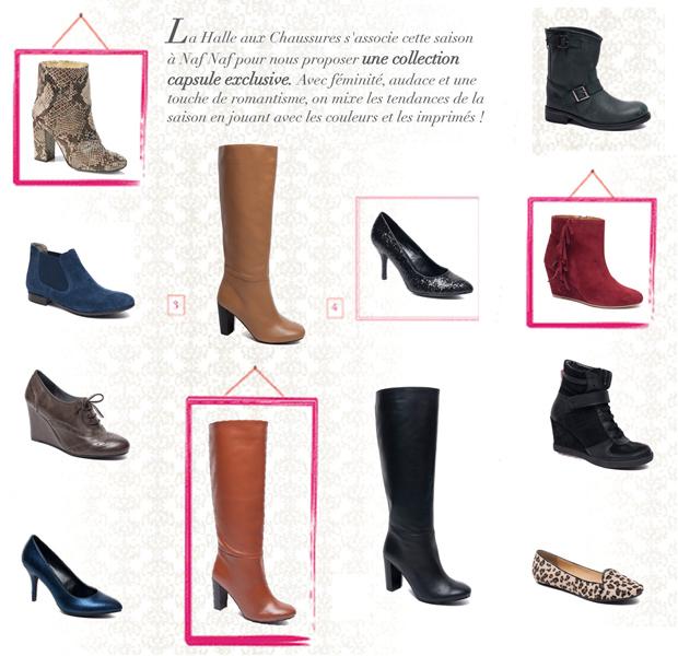 NafNaf11 Naf Naf pour La Halle aux chaussures