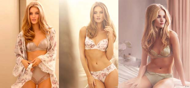 Rosie1 Rosie Huntington Whiteley pour Marks & Spencer : Photos et décryptage