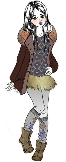 Les tendances Mode automne-hiver 2012-2013♥. TAH_ethnique