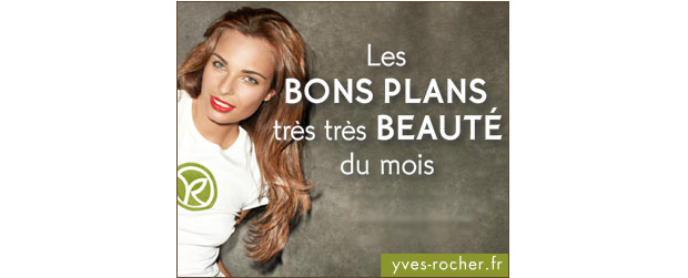 Un maquillage gratuit durant les Make Up Days dYves Rocher ! Yves Rocher Bons Plans