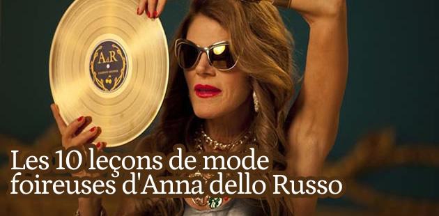 Les 10 leçons de mode foireuses d'Anna dello Russo