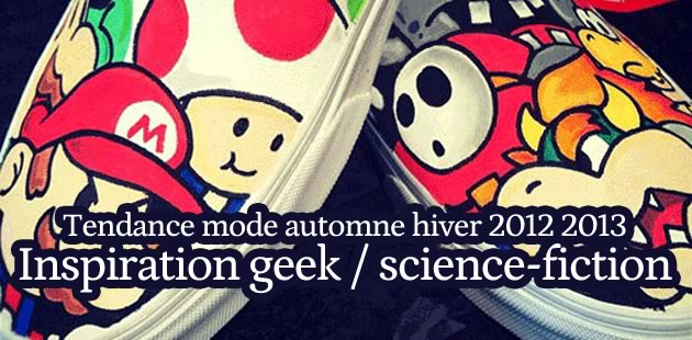 Tendance inspiration geek/SF – Mode automne-hiver 2012