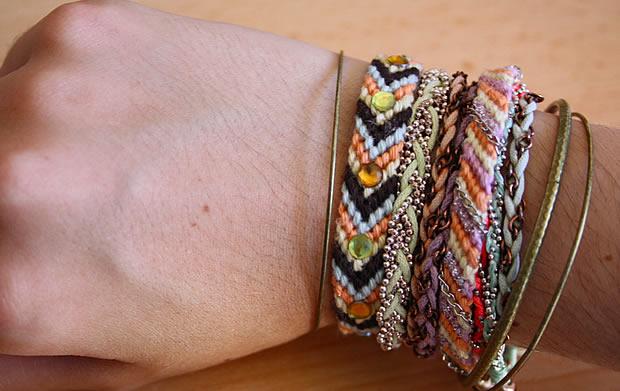 Idées custo   Des bracelets brésiliens tendance bracelet6