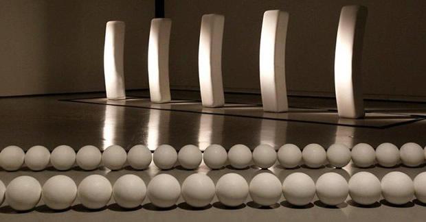 byarsexpo Klein, Byars, Kapoor : une expo à voir au MAMAC de Nice