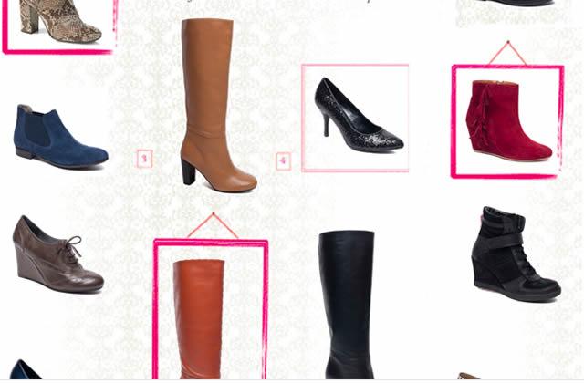 Chaussure Naf Naf : la collection avec La Halles aux chaussures